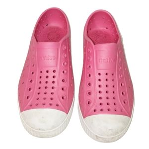 Native Kids Shoes Size C12 in Hollywood Pink